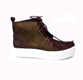 516b3d07b8 Zapatillas Moda Inglesa Botas Seco - Zapatos de Mujer en Mercado ...