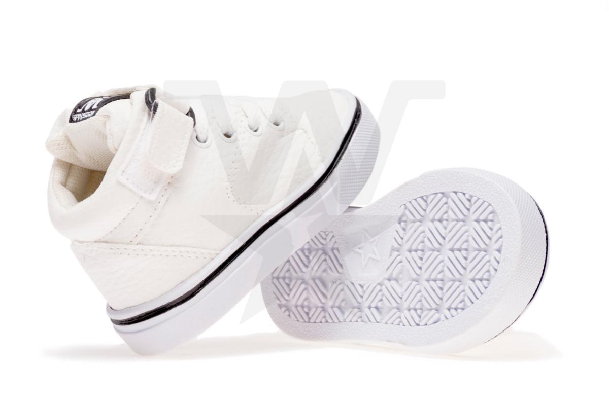 d41a595ef58 Zapatillas Botitas Para Bebe Blancas