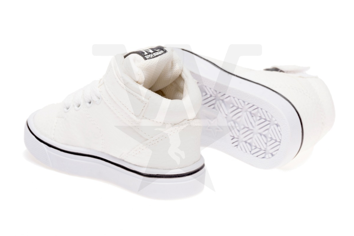 4fa2f7d5 zapatillas botitas para bebes blanca, talles del 17 al 26. Cargando zoom.
