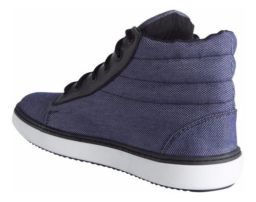 zapatillas botitas simón de la costa lona casuales importada