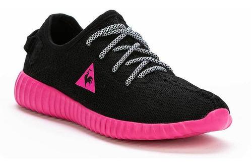 zapatillas bourges negro mujer le coq sportif