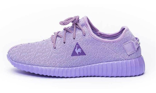 zapatillas bourges violeta mujer le coq sportif