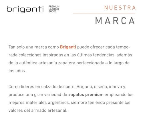 zapatillas briganti hombre cuero sport confort - hczp14131