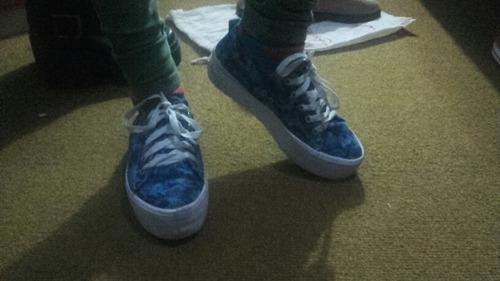 zapatillas camufladas