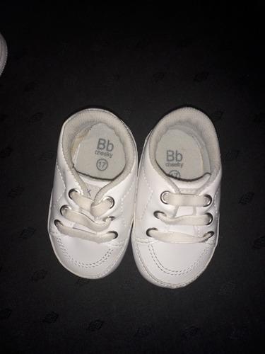 zapatillas cheeky cuero blanca