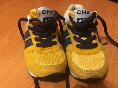 zapatillas cheky numero 23 impecables
