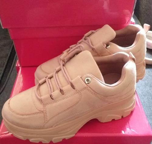 zapatillas chunky con plataforma