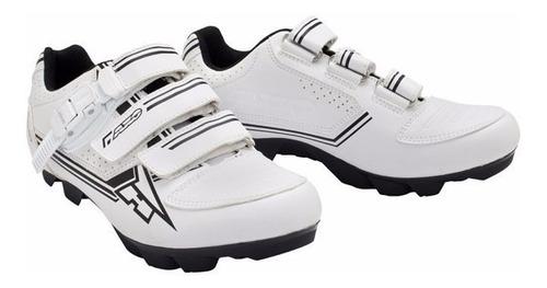 zapatillas ciclismo mountain bike mtb bici axo blanca