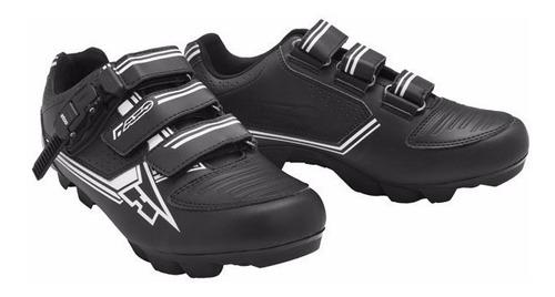 zapatillas ciclismo mountain bike mtb bici axo negra