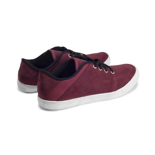 zapatillas clásicas - skate de lona o gamuza bourbon store