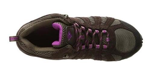 zapatillas columbia redmond mid waterproof mujer
