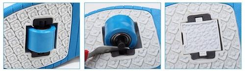 zapatillas con 2 ruedas de silicona - el sirio chile