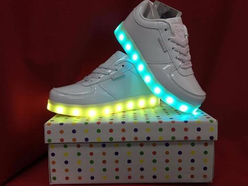 zapatillas con luces led ezlife!! niños!! nuevos colores!!!
