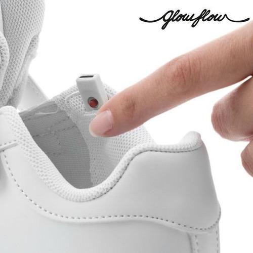 zapatillas con luces led usb recargables  + envios gratis