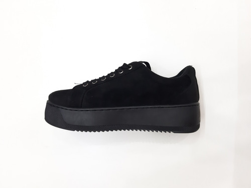zapatillas con plataforma moda 2019 alto 4cm