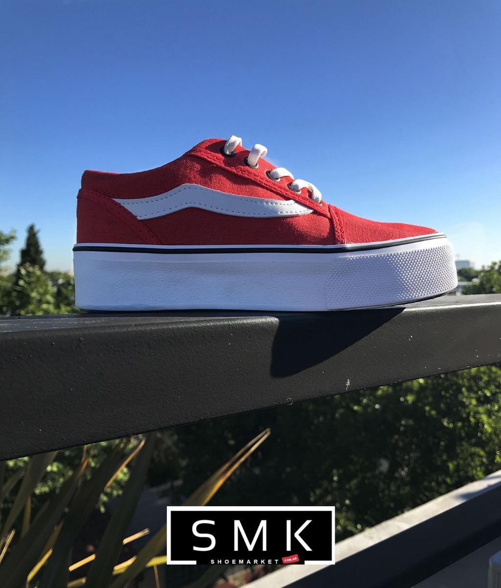 0a527950cf3 zapatillas con plataforma venice rojas envio gratis. Cargando zoom.