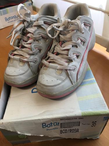 zapatillas con ruedas botanguita(35)súper oferta!!!