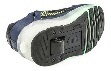 zapatillas con ruedas luces led para patinar addnice manias