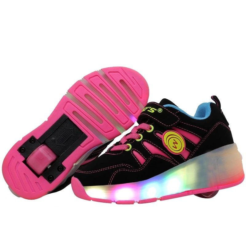 Zapatillas Con Ruedas Y Luces N° 32-33 (envío Gratis) -   35.000 en ... 5cc71e480c12