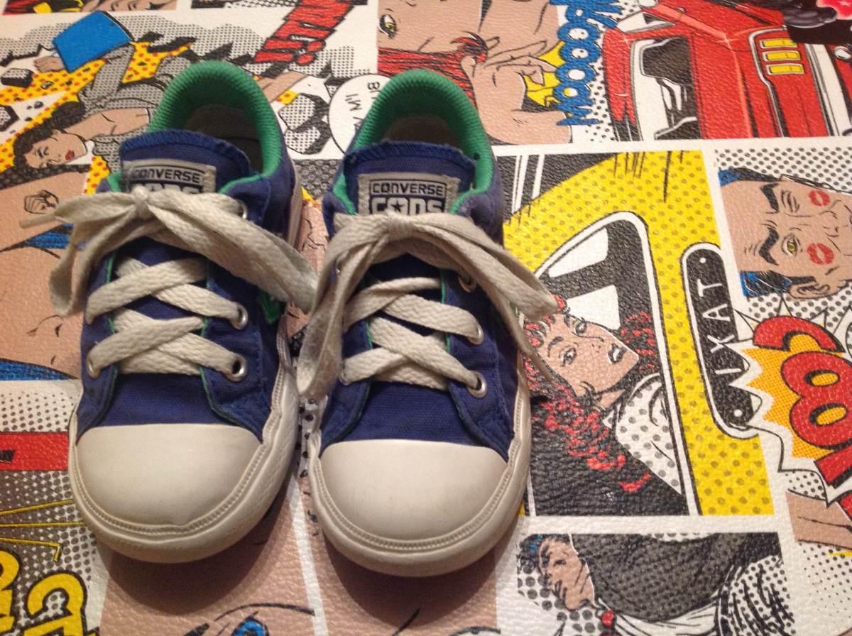 zapatillas converse niño 25