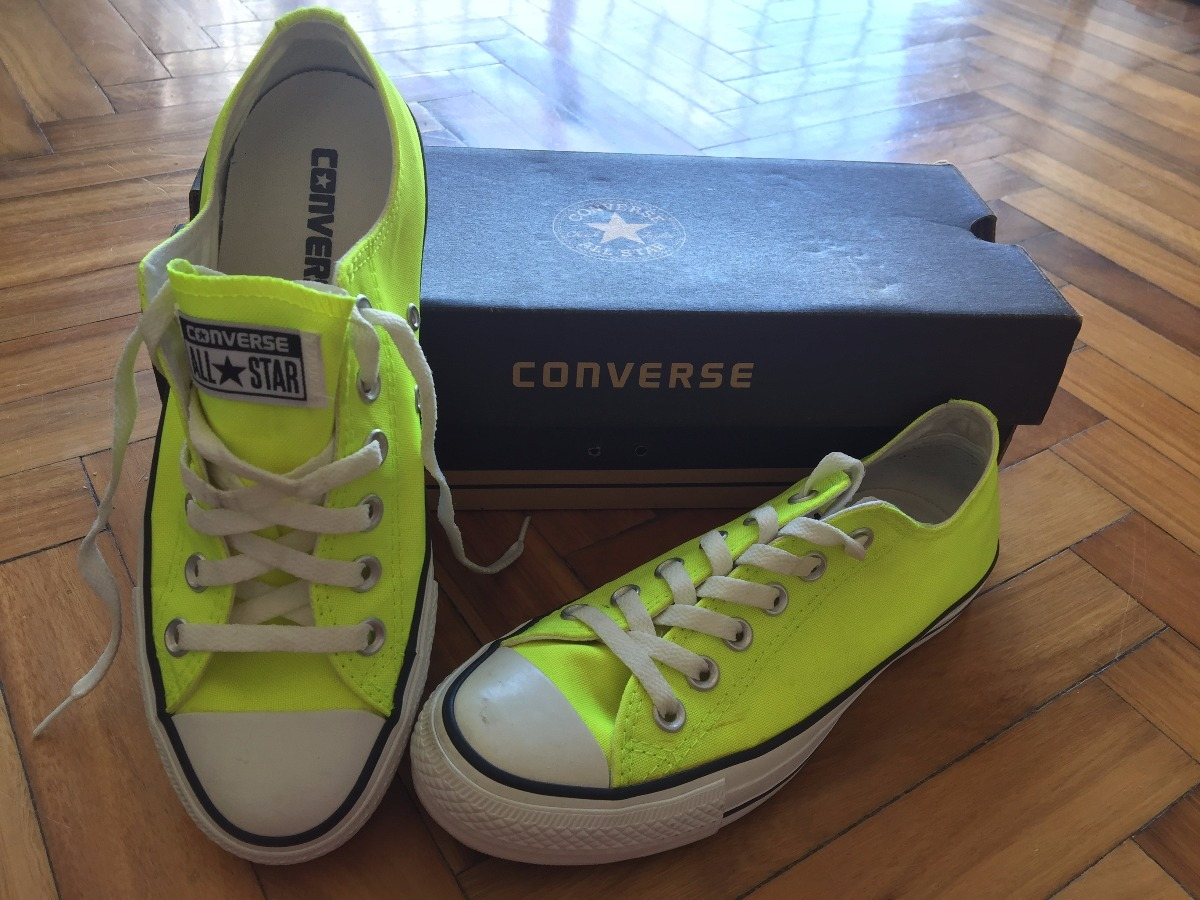 a39b6baf7 ... aliexpress zapatillas converse all star amarillo fluo talle 37. cargando  zoom. 815b4 231ca