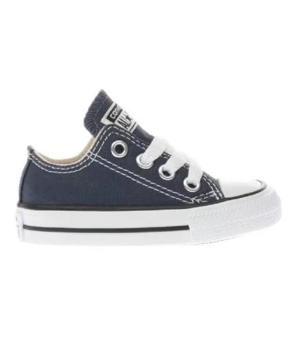 Zapatillas Converse All Star Bebe Azul