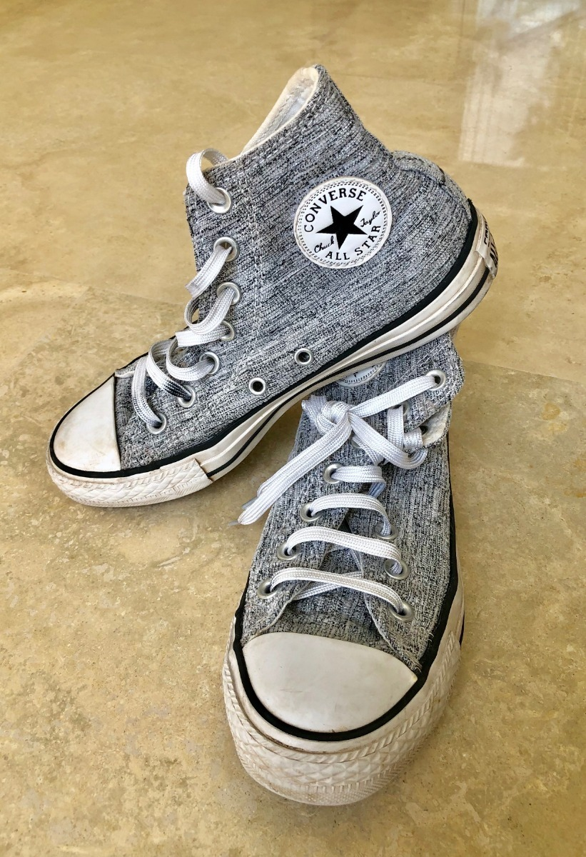 Zapatillas Converse All Star Botitas Mujer Talla 36,5 Us 6