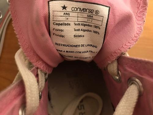 Zapatillas Converse All Star Botitas Talle 34 35 $ 500,00