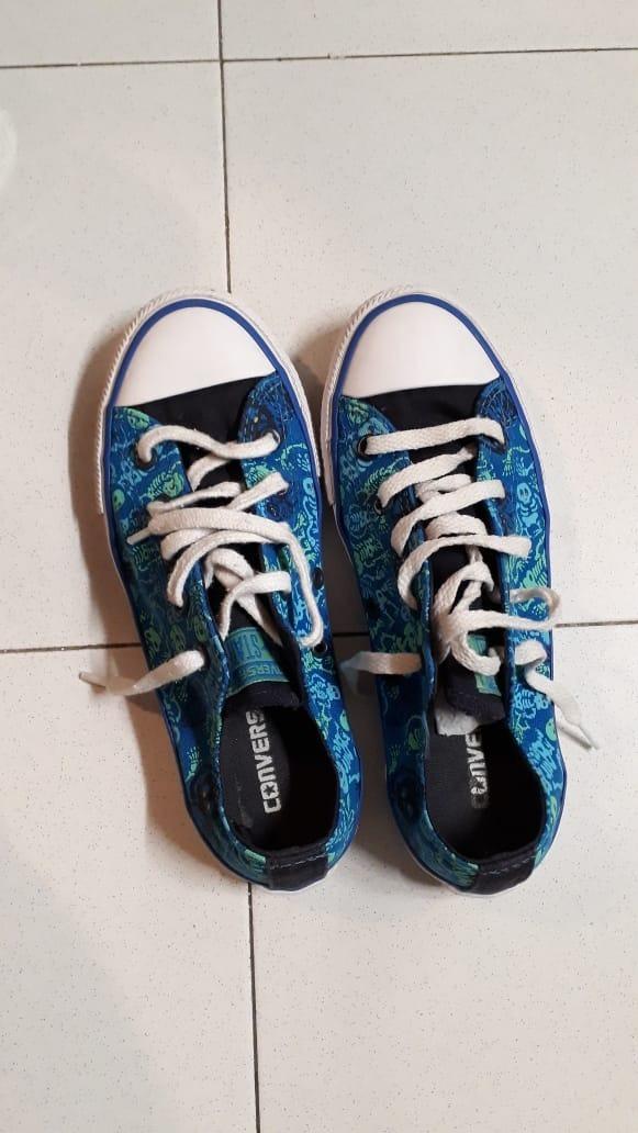 converse calaveras zapatillas