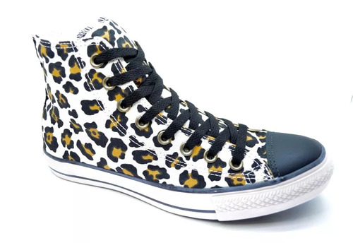 zapatillas converse all star animal print