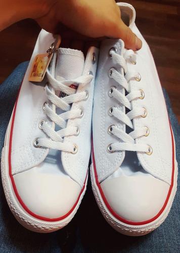 zapatillas converse all star chuck taylor blancas 41 nuevas