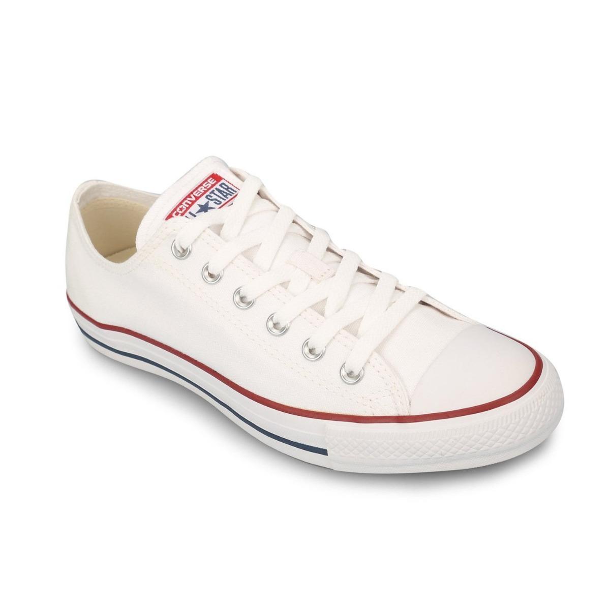 703724d7d2 zapatillas converse all star chuck taylor blancas unisex. Cargando zoom.