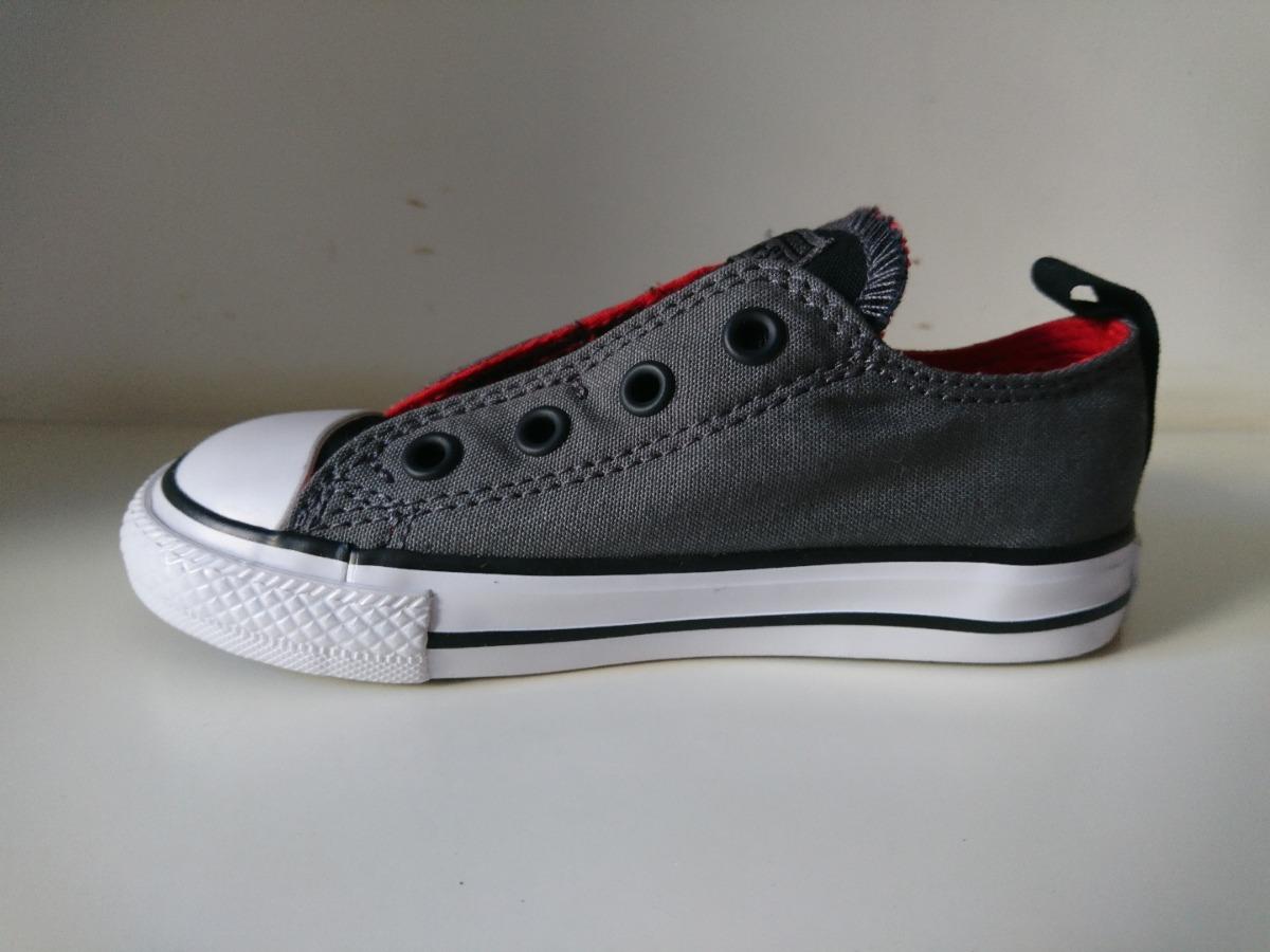 a1c8f79f73 zapatillas converse all star chuck taylor kids sin cordones. Cargando zoom.