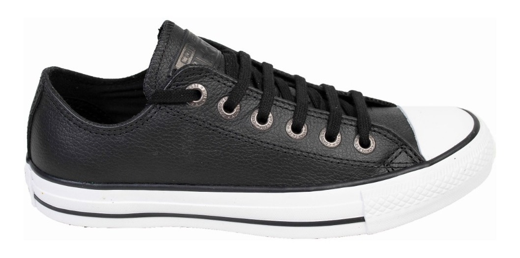converse all star ox piel