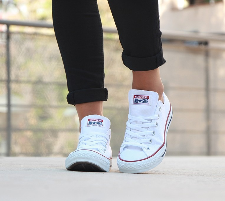 converse all star mujer blanco