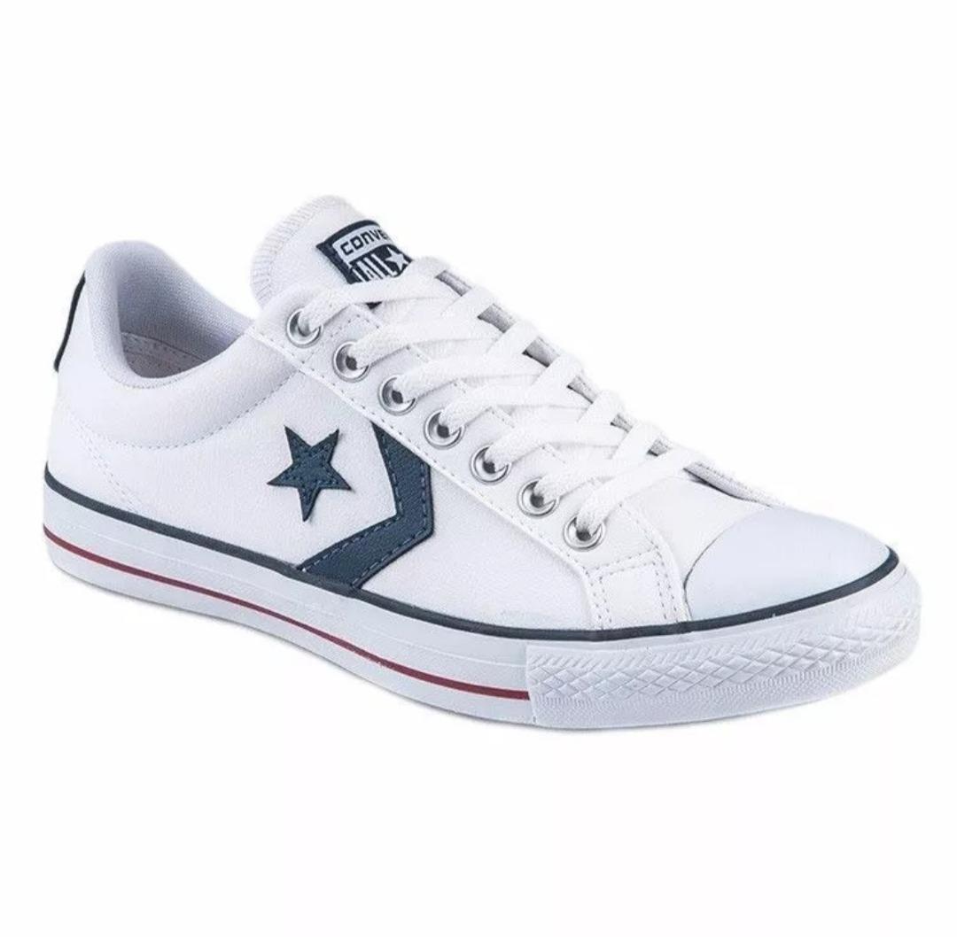 f5a0788eb4a zapatillas converse all star ev original cuero blancas. Cargando zoom.