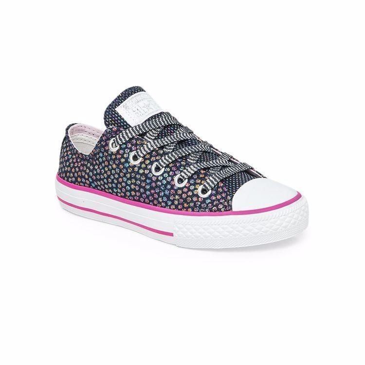 3990ba2ad Zapatillas Converse All Star Lurex Kids Niña- Sagat Deportes ...
