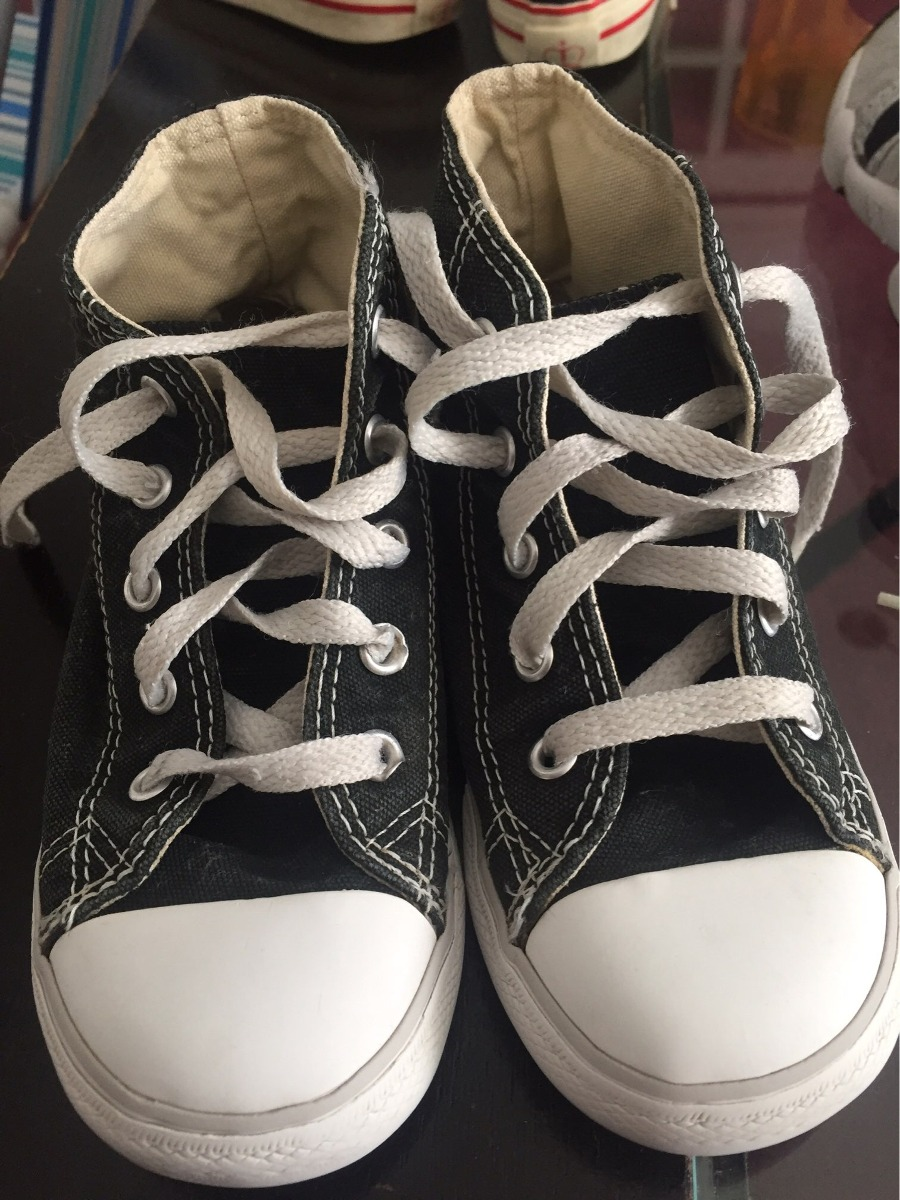 converse all star negras niño