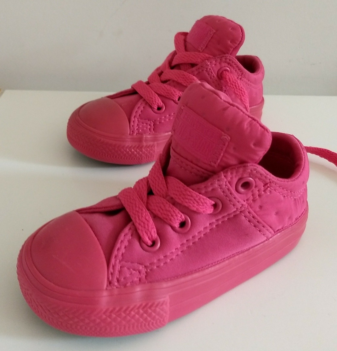 16de855bc Zapatillas Converse All Star Okm Bebe - Niñas Usa 5 -12