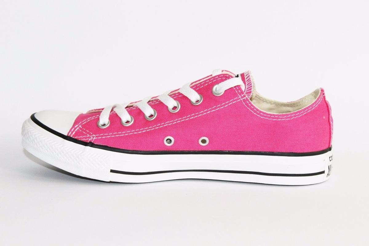 zapatillas converse rosa fluor