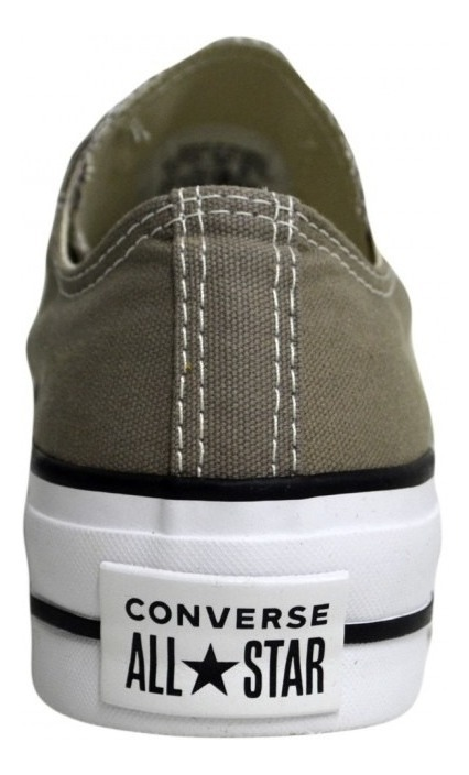 converse all star grises mujer