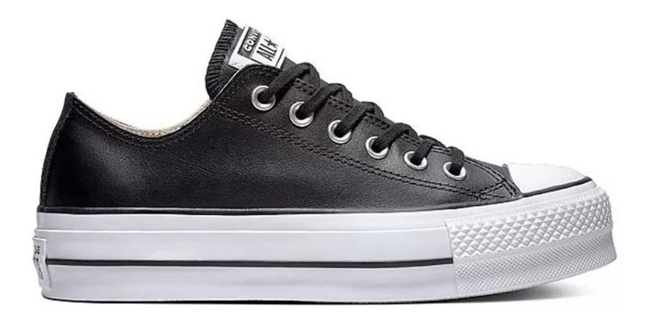 converse all star piel mujer