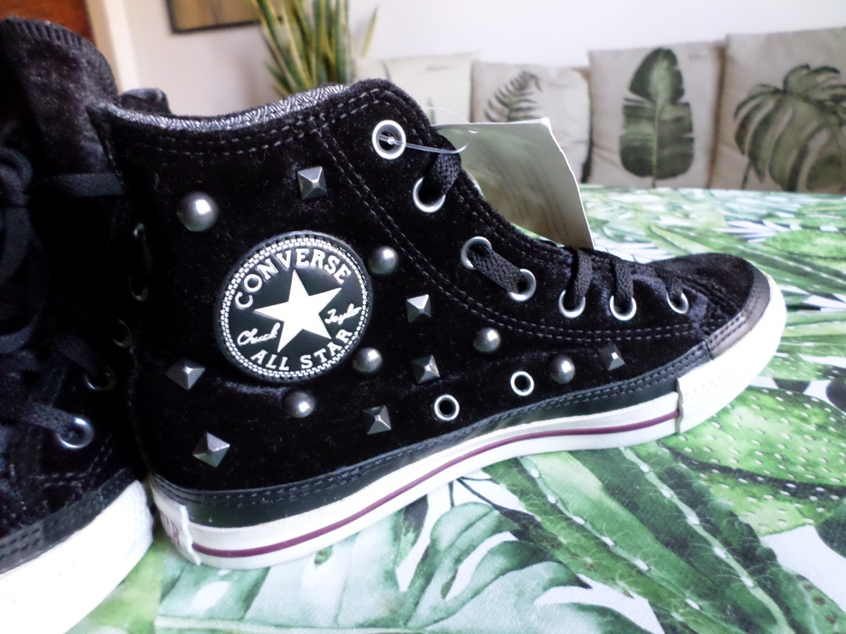 converse all star terciopelo