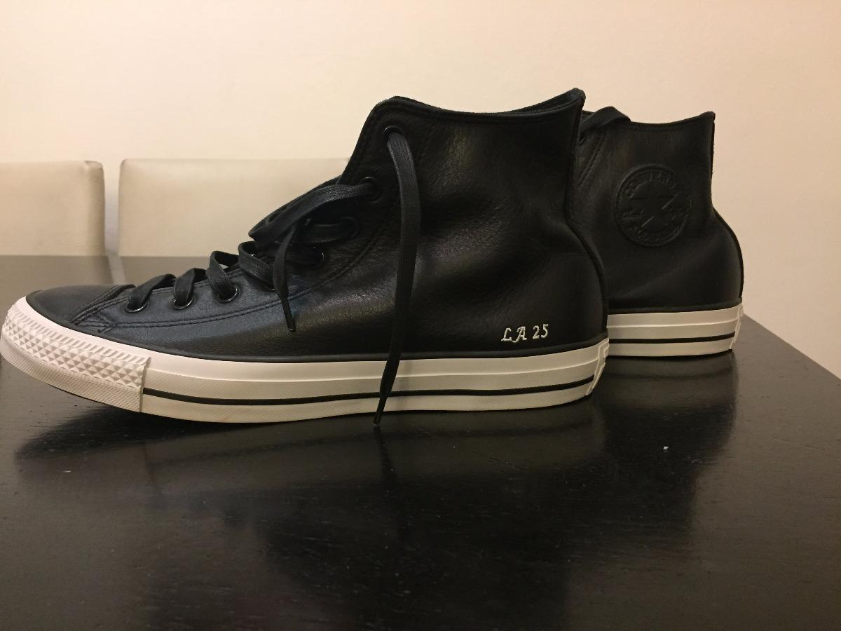 681426b19f2 zapatillas converse all stars de cuero negras nuevas. Cargando zoom.