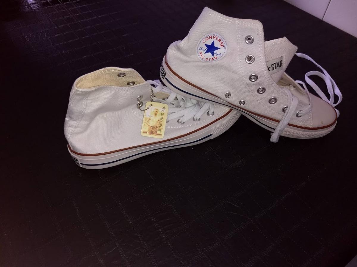 5139df694d Zapatillas Converse Blancas Talle 41 Nuevas - $ 1.000,00 en Mercado ...