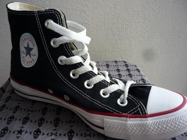 calidad estable sitio de buena reputación nuevo lanzamiento Zapatillas Converse Botitas Negras Chuck Taylor 1 Uso Unisex ...