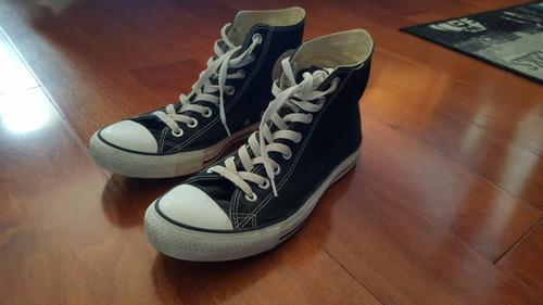 zapatillas converse chuck taylor all star black hi - negras