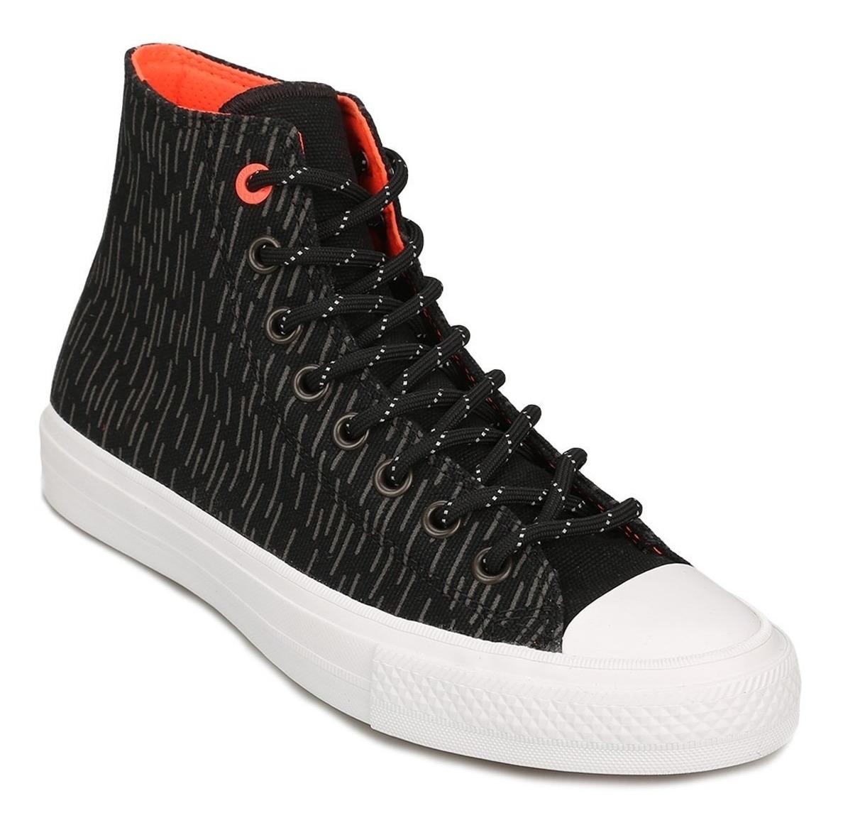 Zapatillas Converse Chuck Taylor All Star Ii Refle Hi Negro