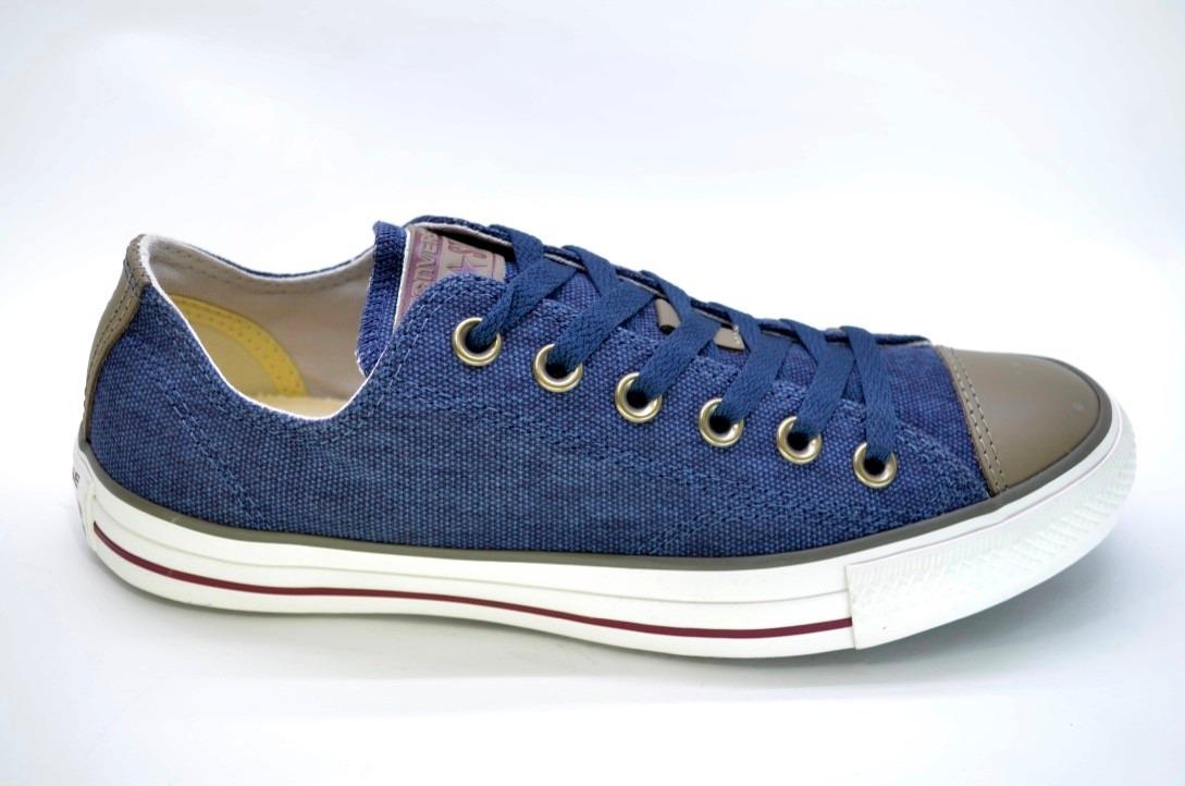 823617fb60 Zapatillas Converse Chuck Taylor All Star Line Ox Azul - $ 3.734,00 ...
