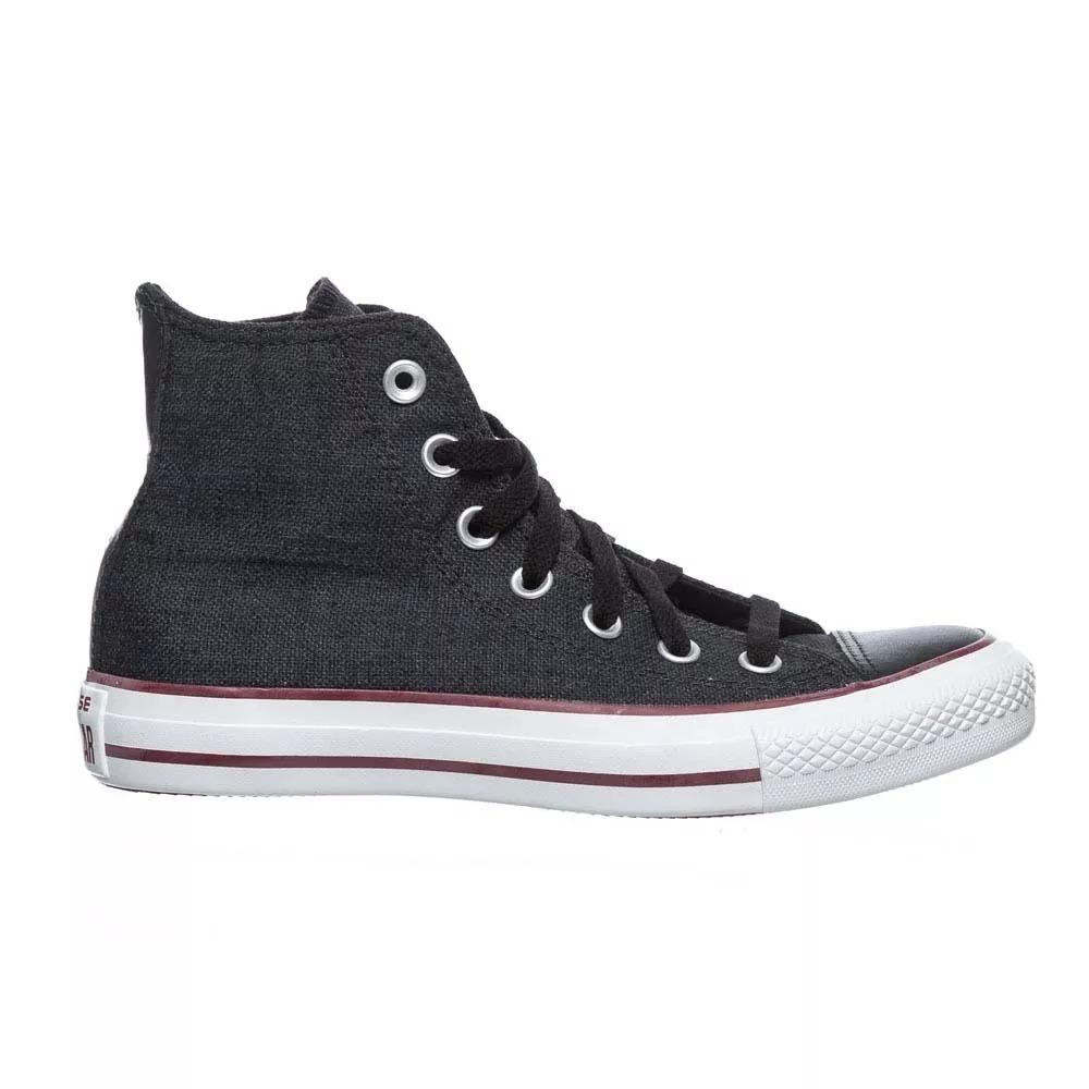 2cad3b47387 zapatillas converse chuck taylor all star linen hi black. Cargando zoom.